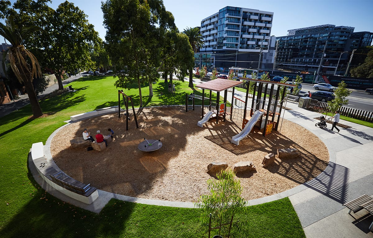 playground at Williams Reserve, East Richmond